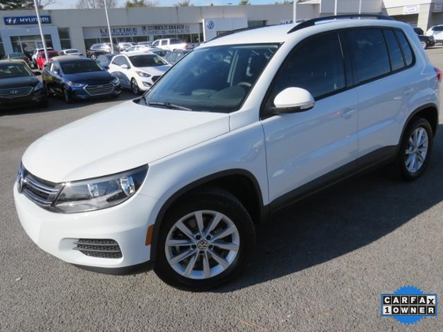 Pre Owned 2017 Volkswagen Tiguan 2 0t 4d Sport Utility In Rock Hill